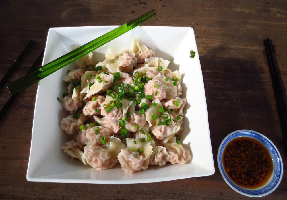 Dumplings My Former writing Life and Chinese New Year - PenAndWok.com - Cecilie's PenAndWok.com