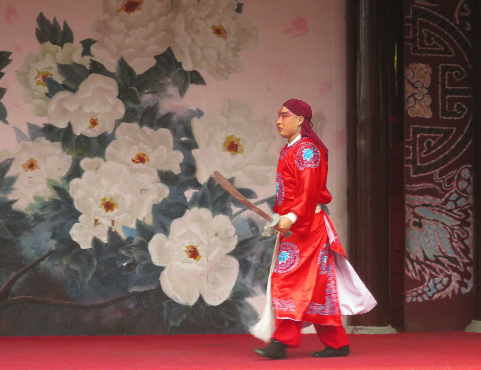 Chinese opera star Shenzhen Splendid China